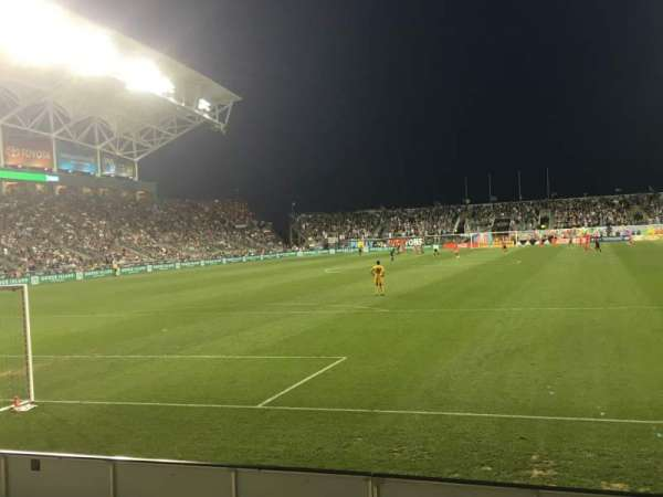 talen energy stadium, section: 116, row: E, seat: 1