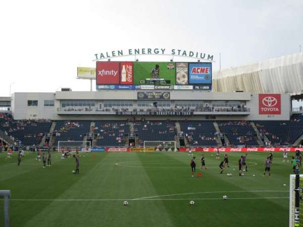 talen energy stadium, section: 139, row: 1, seat: 1