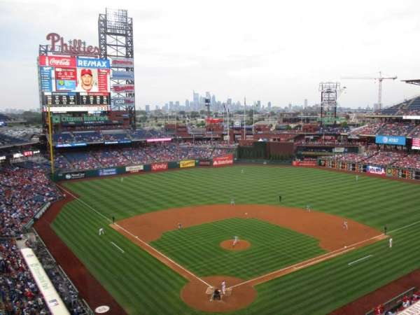Citizens Bank Park, section: 320, row: 2, seat: 10