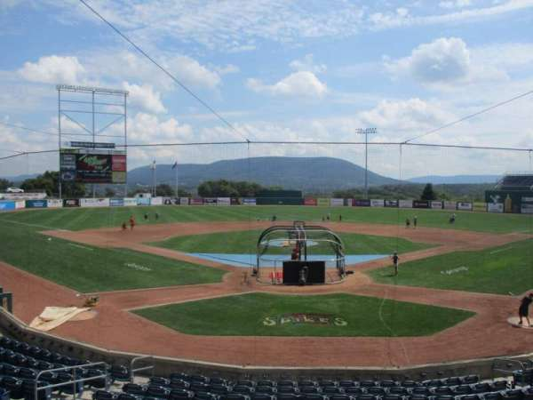 Medlar Field at Lubrano Park, section: 105, row: 13, seat: 1
