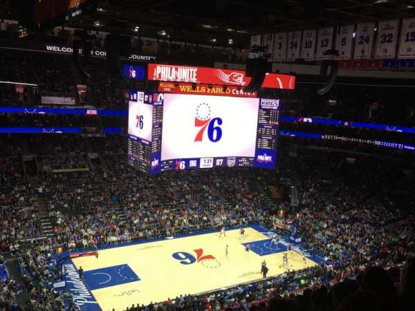 Wells Fargo Center, section: 223, row: 10, seat: 1