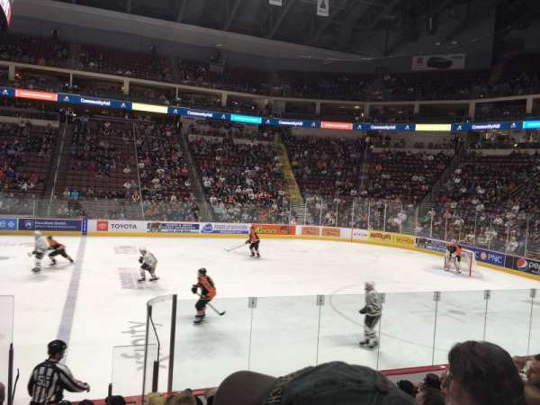 Giant Center, section: 121, row: j, seat: 11
