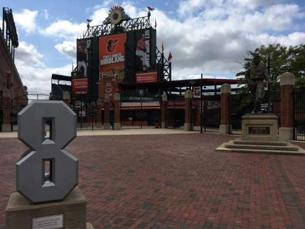Oriole Park at Camden Yards, section: REAR, row: Exterior