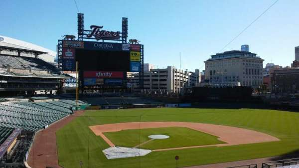Comerica Park, section: Press Box