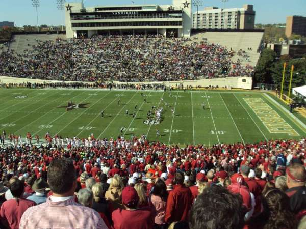 Vanderbilt Stadium, section: U, row: 55, seat: 15-16