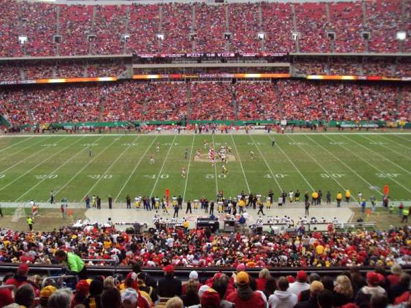 Arrowhead Stadium, section: 201, row: SUITE, seat: SUITE