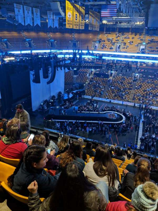 TD Garden, section: BAL 316, row: 13, seat: 13