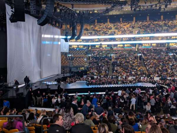 TD Garden, section: LOGE 13, row: 17, seat: 11