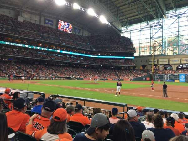 Minute Maid Park, section: 127, row: 10, seat: 9