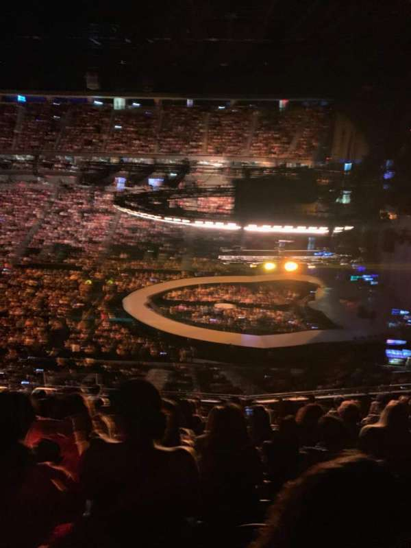 T-Mobile Arena, section: 225, row: K, seat: 25