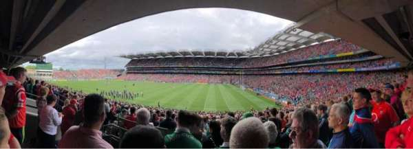 Croke Park, section: 328, row: PP, seat: 11
