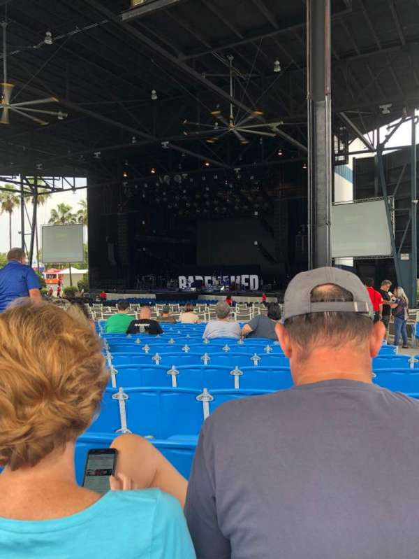 iThink Financial Amphitheatre, section: 5, row: W, seat: 36