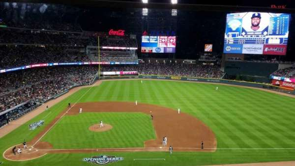 SunTrust Park, section: 320, row: 1, seat: 16