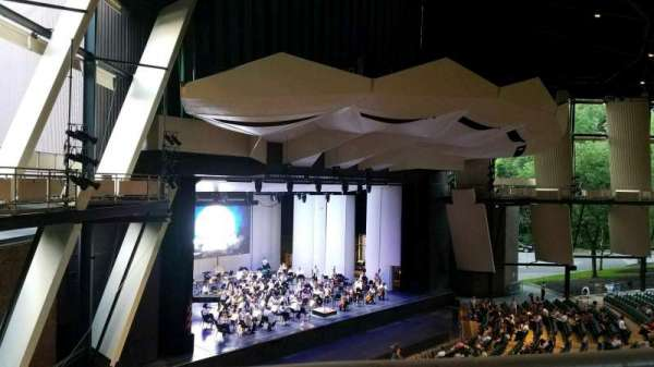 Saratoga Performing Arts Center, section: 19, row: A, seat: 14