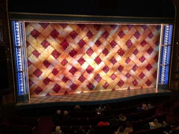 Brooks Atkinson Theatre, section: Front Mezzanine C, row: A, seat: 101