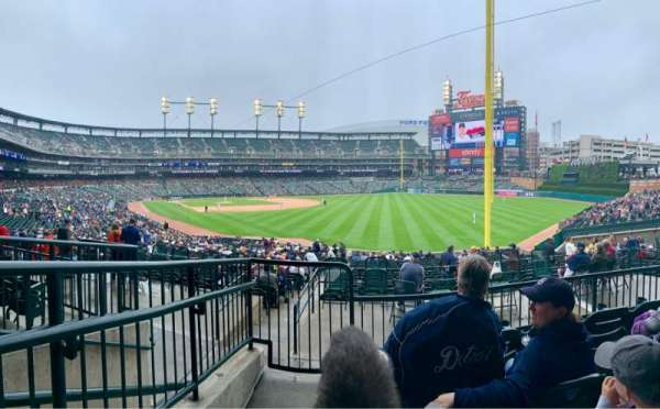 Comerica Park, section: 112, row: 40, seat: 18