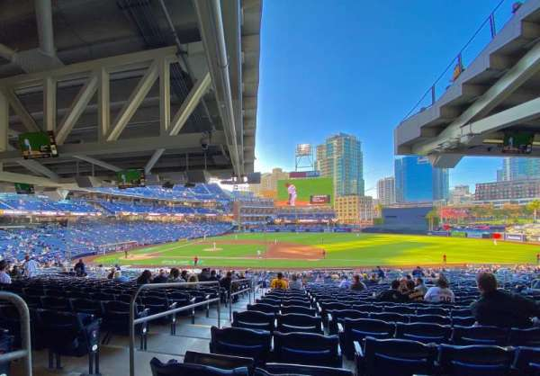 PETCO Park, section: 311, row: 42, seat: 1