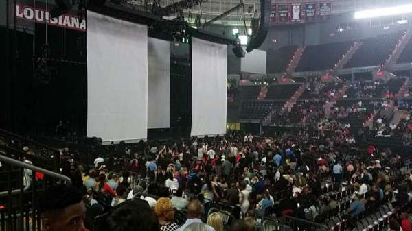 Cajundome, section: 122, row: 13, seat: 5