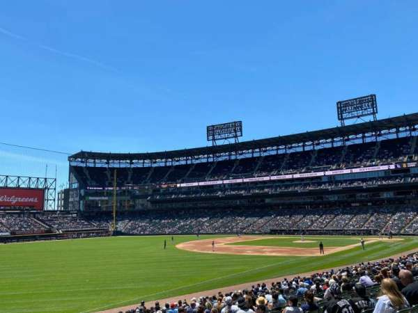 Guaranteed Rate Field, section: 151, row: 24, seat: 8