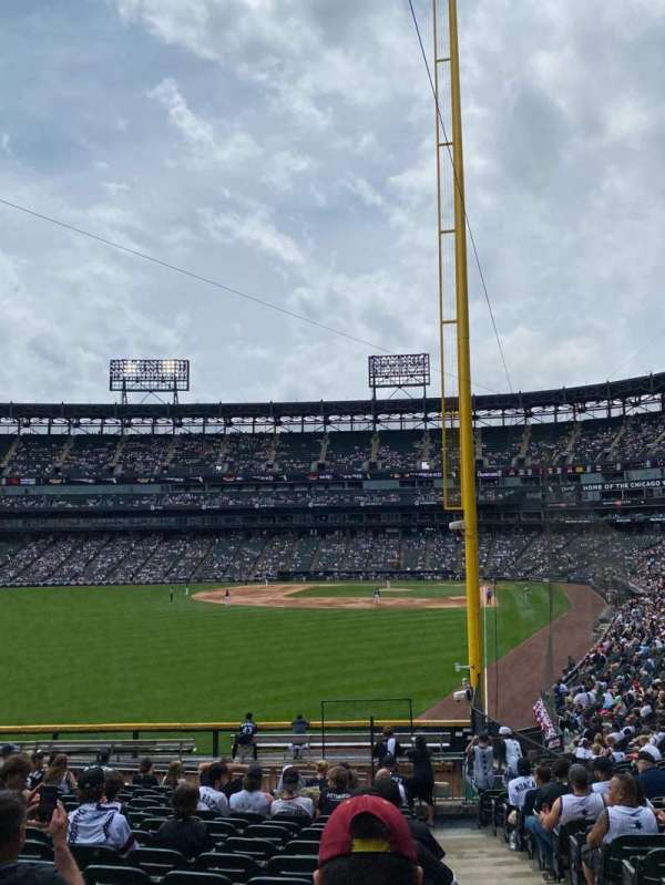 Guaranteed Rate Field, section: 157, row: 24, seat: 1