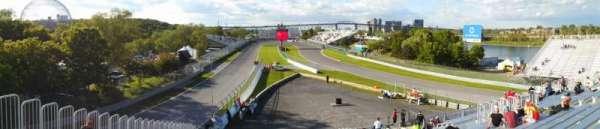 Circuit Gilles Villeneuve, section: 34, row: Top