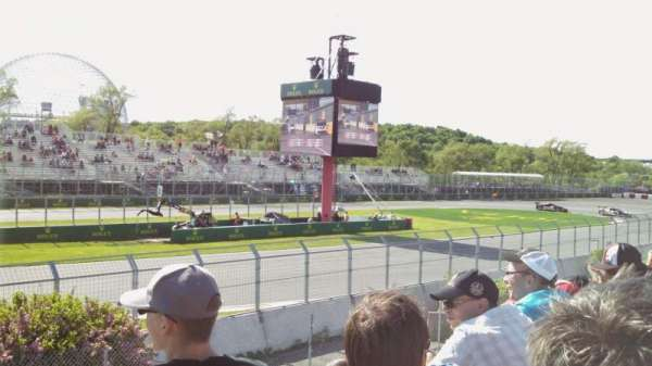 Circuit Gilles Villeneuve, section: GA