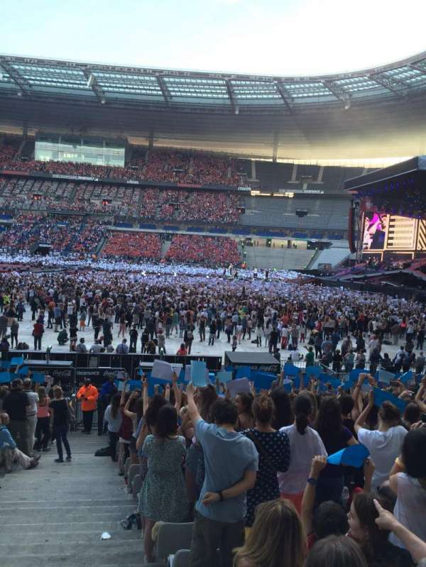 Stade De France, section: G8, row: 21, seat: 36