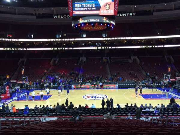 Wells Fargo Center, section: 113, row: 19, seat: 6