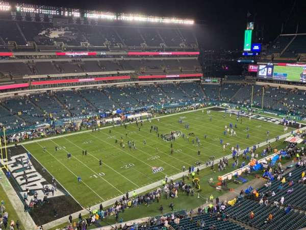 Lincoln Financial Field, section: 220, row: 3, seat: 14