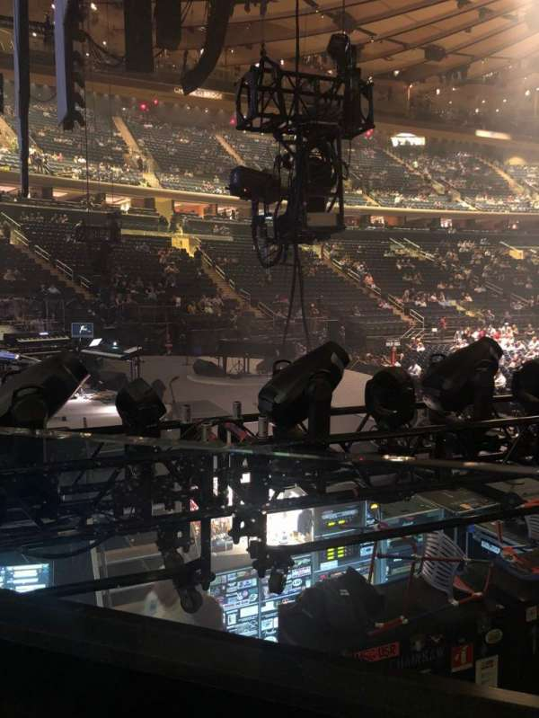 Madison Square Garden, section: 114, row: 6, seat: 6
