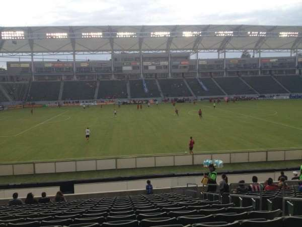 Dignity Health Sports Park, section: 134, row: R, seat: 5