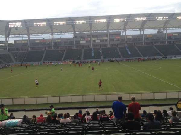 Dignity Health Sports Park, section: 133, row: R, seat: 10