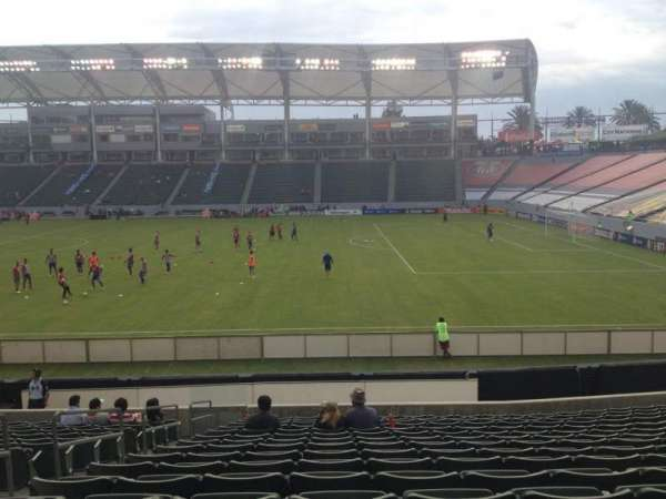 Dignity Health Sports Park, section: 129, row: R, seat: 22