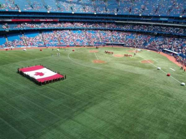 Rogers Centre, section: 543R, row: 1, seat: 10