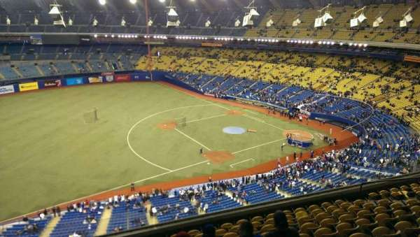 Olympic Stadium, Montreal, section: 426, row: A, seat: 5