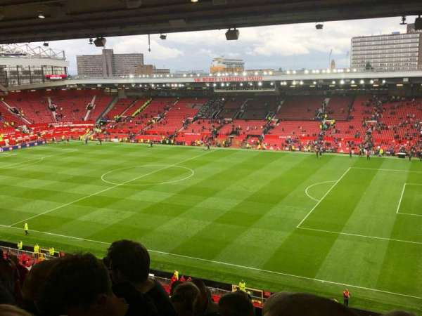 Old Trafford, section: N3408, row: 10, seat: 8
