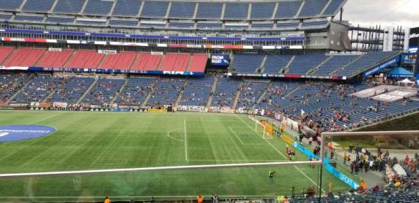 Gillette Stadium, section: CL7, row: 2, seat: 2