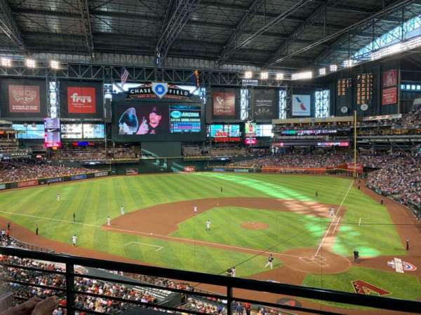 Chase Field, section: 210H, row: 2, seat: 95