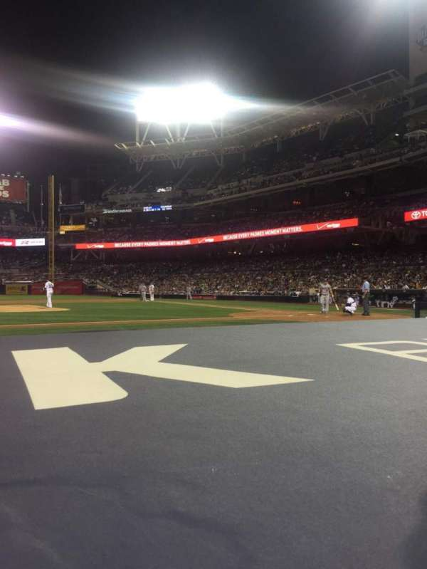 PETCO Park, section: 108, row: 8, seat: 11