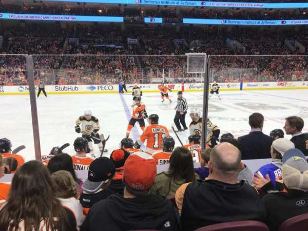 Wells Fargo Center, section: 124, row: 6, seat: 12