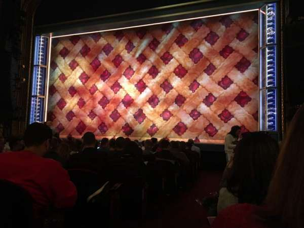 Brooks Atkinson Theatre, section: Orchestra, row: K, seat: 2