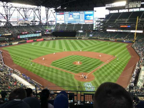 T-Mobile Park, section: 331, row: 4, seat: 13