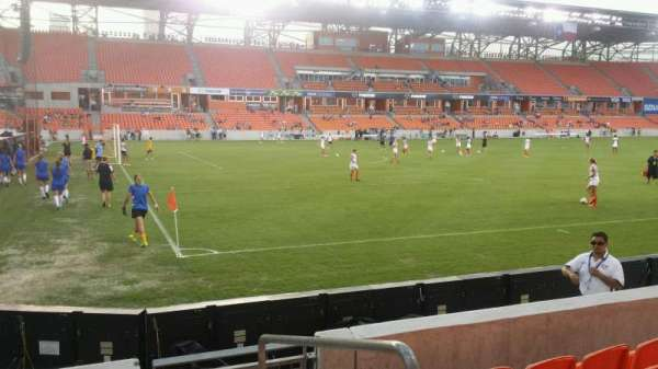 BBVA Stadium, section: 130, row: e, seat: 1