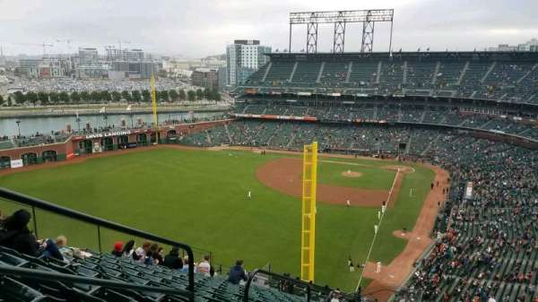 AT&T Park, section: 335, row: 16, seat: 18