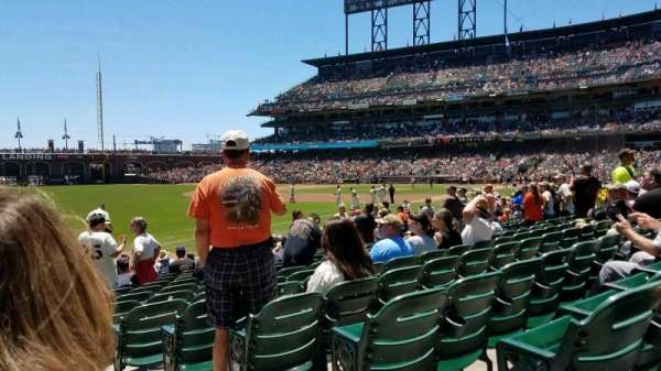 AT&T Park, section: 130, row: 14, seat: 1