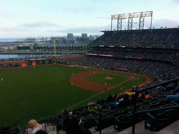 AT&T Park, section: 331, row: 9, seat: 3