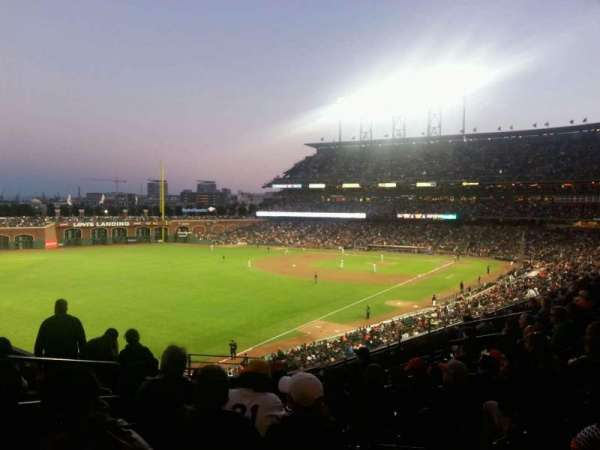 AT&T Park, section: 323, row: I, seat: 19