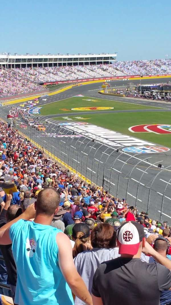Charlotte Motor Speedway, section: Old Veranda J, row: 38, seat: 15