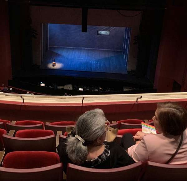 San Diego Civic Theatre, section: BALCR1, row: T, seat: 6