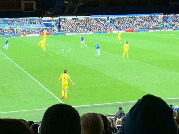 Goodison Park, section: Lb3, row: Q, seat: 136